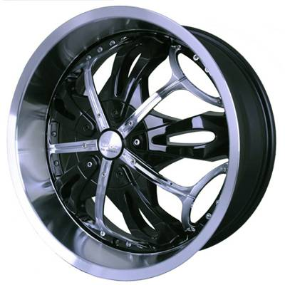 G2 G2-347 20x8.5 Gloss Black with Paintable Inserts