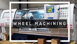 Wheel Air Pockets Machining / Drilling